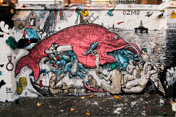 OZMO BIG FISH EATS SMALL FISH London (2011)