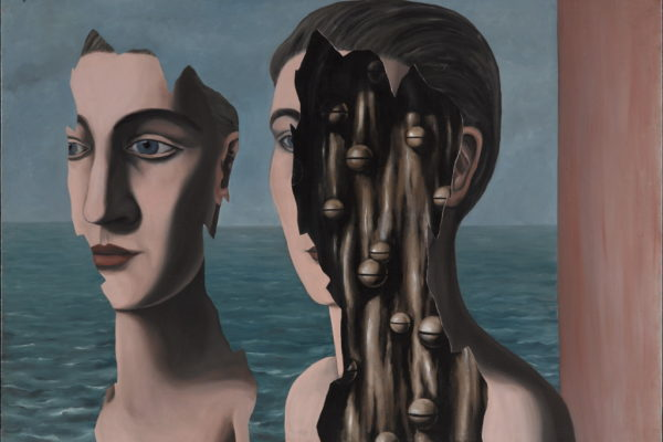 MAGRITTE René Le double secret 1927 Huile sur toile 114 x 162 cm Centre National d'Art ed de Culture Georges Pompidou Parigi Francia