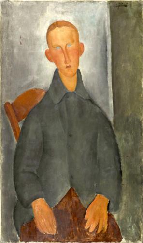 Modigliani, Ragazzo dai capelli rossi
